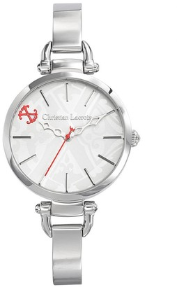 Christian Lacroix Womens Analogue Quartz Watch with Stainless Steel Strap CLWE19