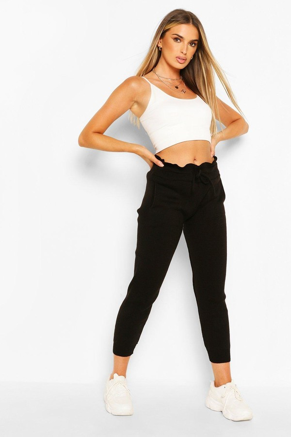 Thumbnail for your product : boohoo Knitted Joggers