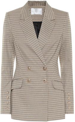 Rebecca Vallance Cocoa checked blazer