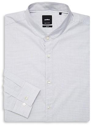 Strellson Striped Slim-Fit Dress Shirt