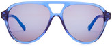 Jack Spade Unisex Thomps Aviator Sunglasses