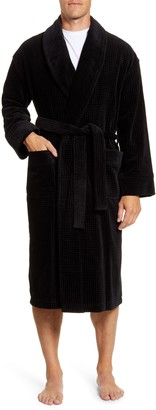 Majestic International Ashton Waffle Terry Robe