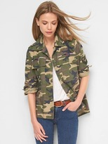 Gap Patch camo swing jacket