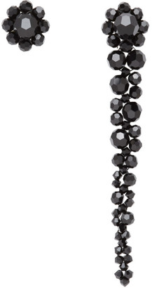 Simone Rocha Black Mini Drip Stud Earrings