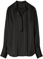 Nili Lotan Colette Blouse in Black