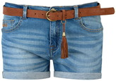 Soul Cal Soulcal SoulCal Turned Up Belted Shorts Ladies