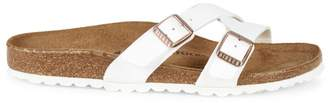 Birkenstock Women's Yao Crossover Double-Strap Slide Sandals