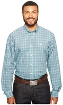Cinch Long Sleeve Plain Weave Plaid Men's Clothing