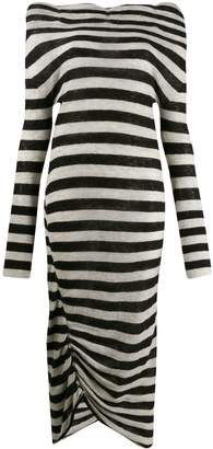 Patrizia Pepe striped sweater dress