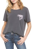 Junk Food Clothing Women's Feminist Tee