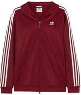 adidas Bb Striped Cotton-blend Jersey Jacket