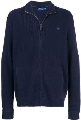 Polo Ralph Lauren Wool Zipped Up Cardigan