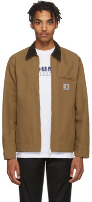Carhartt Work In Progress Brown Detroit Jacket