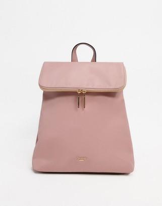 Dune Donis Nylon Zip Backpack