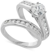 Thumbnail for your product : Grown With Love Lab Grown Diamond Channel-Set Bridal Set (2 ct. t.w.) in 14k White Gold