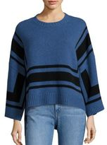 Derek Lam 10 Crosby Bold Striped Wool Sweater