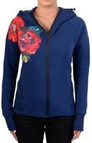 Desigual Sweatshirthirt Training Interlock 17WERK01 Blue 5149 Bleu