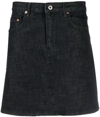 McQ A-line denim skirt