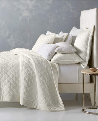 Hotel Collection Trousseau Cotton Quilted Full/Queen Coverlet, Bedding