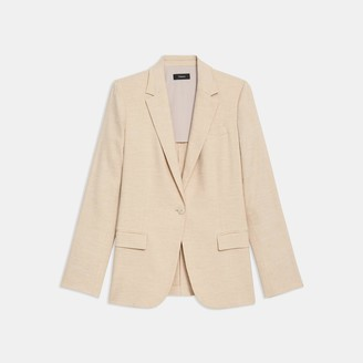 Theory Staple Blazer in Textured Good Linen