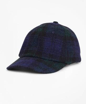 Brooks Brothers Harris Tweed Black Watch Baseball Hat