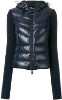Moncler Grenoble panelled puffer jacket