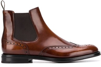 Church's Ketsby brogue Chelsea boots