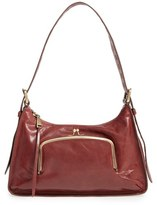 Hobo 'Harloh' Leather Shoulder Bag - Brown
