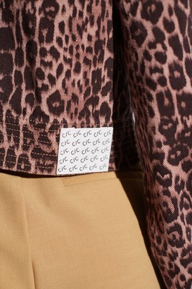 C/Meo REITERATE JACKET brown leopard