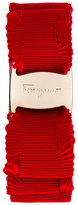 Salvatore Ferragamo bow embroidered hairband - women - Cotton/Brass/Rayon/Polyamide - One Size