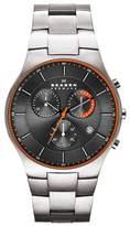 Skagen Men's Akiv Chronograph Bracelet Watch, 42mm