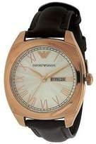 Emporio Armani Leather Mens Watch AR1939
