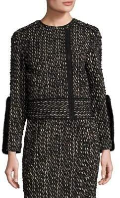 Agnona Wool& Mink Jacket