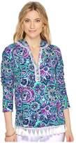Lilly Pulitzer UPF 50+ Harmon Hoodie Women's Sweatshirt
