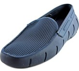 Robert Wayne Sloop Men Moc Toe Synthetic Blue Loafer.
