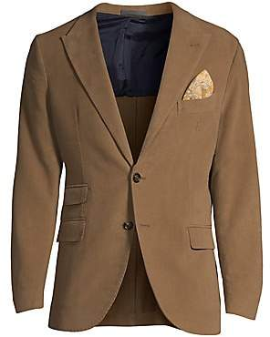 Eleventy Men's Single-Breasted Cashmere-Blend Jacket