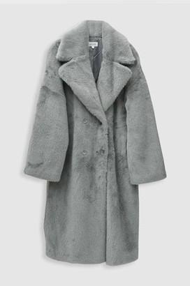 Hartford Vaderi Coat In Sauge - 4