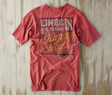 Madda Fella Short Sleeve Excursions - Happy Hour Print Dusk Red
