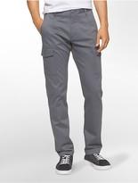 Calvin Klein Slim Fit Sateen Cargo Pants