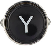 Barneys New York Men's Initial Typewriter Key Cufflink