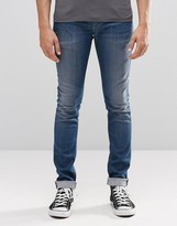Pepe Jeans Pepe Finsbury Skinny Jeans Z07 Mid Wash