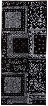 Bather Black Bandana Towel