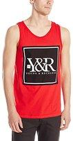 Young & Reckless Men's Core Box Logo Tank