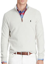 Polo Ralph Lauren Pima Cotton Half-Zip Sweater