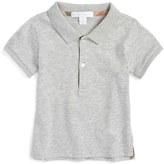Burberry Infant Boy's 'Palmer' Pique Polo