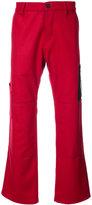 Enfants Riches Deprimes straight leg side patch trousers