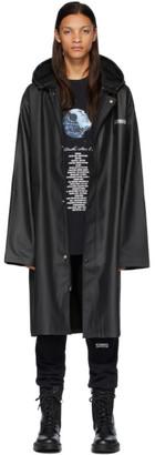 Vetements Black STAR WARS Edition Character List Raincoat