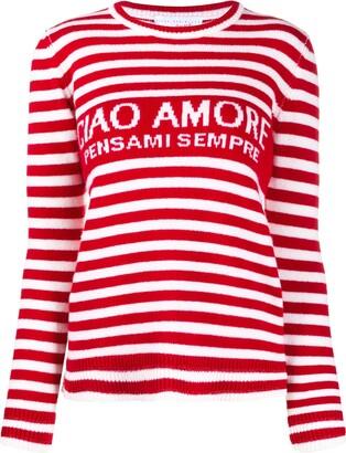 Giada Benincasa Striped Wool Jumper