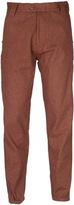 Marshall Artist Rust Orange Workshop Chino Trousers
