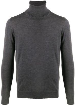Zanone Roll-Neck Wool Jumper